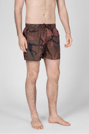 Мужские камуфляжные плавательные шорты 1