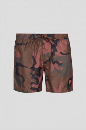 Мужские камуфляжные плавательные шорты