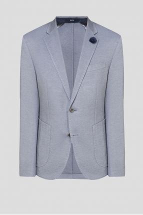 Мужской голубой пиджак