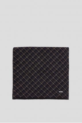 Мужской шерстяной шарф с узором 1