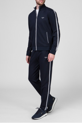 Мужской темно-синий костюм (кофта, брюки) 1