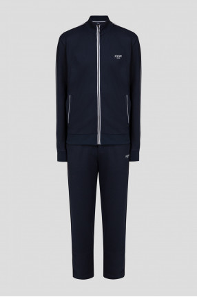 Мужской темно-синий костюм (кофта, брюки)