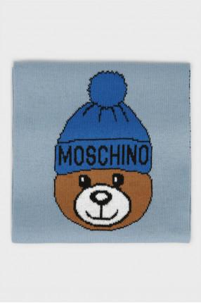 Голубой шарф 1