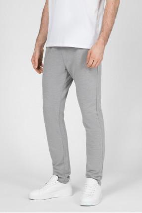 Мужские серые спортивные брюки 1