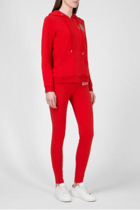 Женский красный спортивный костюмм 1