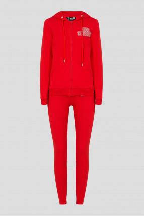 Женский красный спортивный костюмм