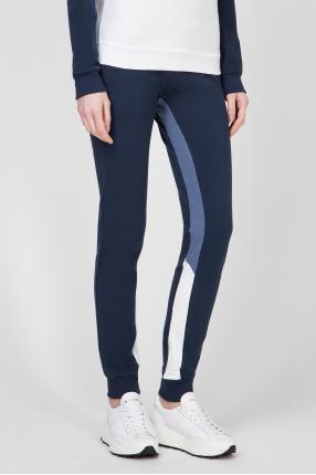 Женские синие спортивные брюки 1