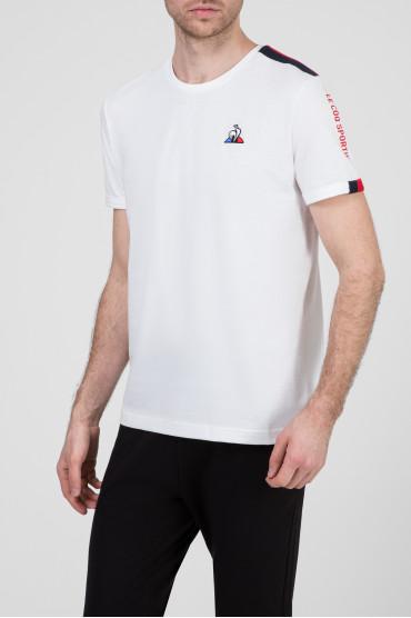 Мужская белая футболка 2