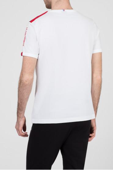 Мужская белая футболка 3