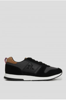 Мужские черные кроссовки JAZY CLASSIC