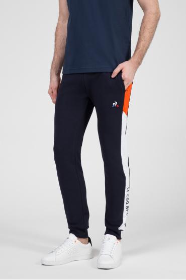 Мужские темно-синие спортивные брюки 2