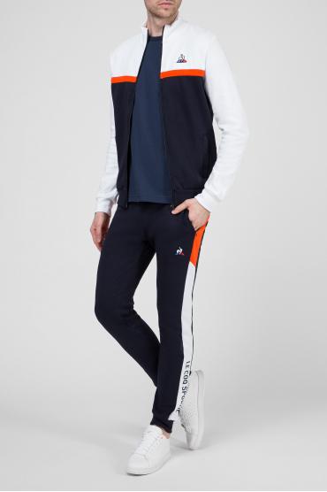 Мужские темно-синие спортивные брюки 5