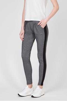 Женские темно-серые спортивные брюки 1