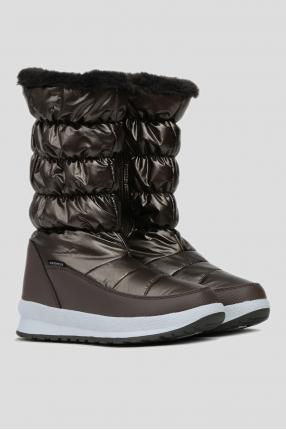 Женские коричневые сапоги HOLSE WMN SNOW BOOT WP 1