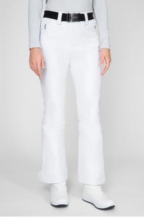 Женские белые лыжные брюки 1