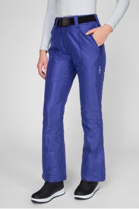 Женские фиолетовые лыжные брюки 1