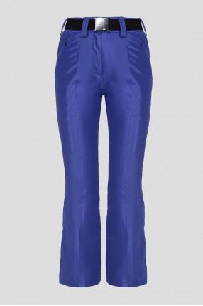 Женские фиолетовые лыжные брюки