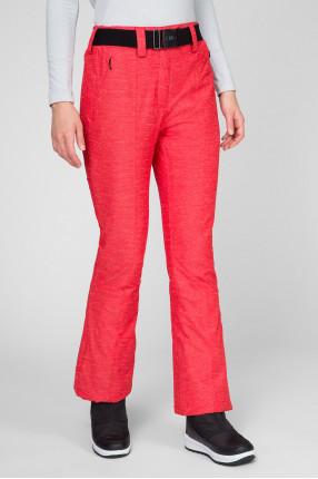 Женские красные лыжные брюки 1