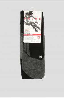 Женские лыжные носки с узором SK2 WOOL