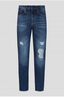 Мужские темно-синие джинсы 040 TABER