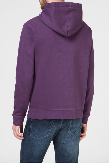 Мужское фиолетовое худи 3