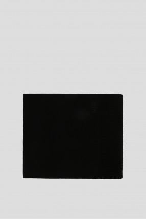 Мужской черный шарф 1