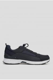 Мужские темно-синие кроссовки