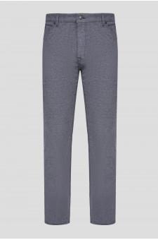 Мужские серые брюки MAINE