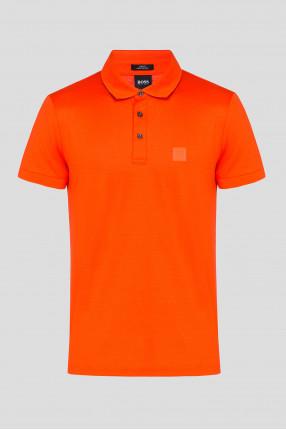 Мужское оранжевое поло