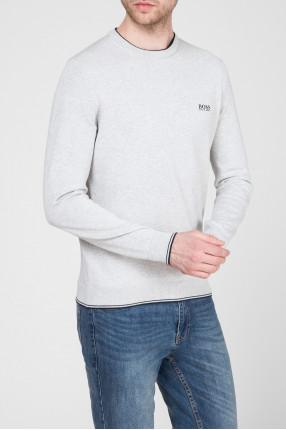 Мужской серый джемпер 1