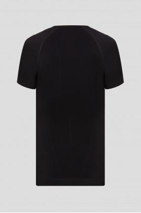 Мужская черная термофутболка WARM 1