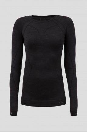 Женский темно-серый термореглан