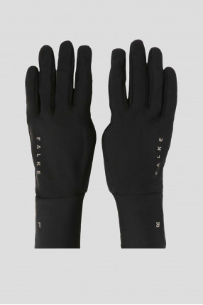 Черные перчатки GLOVES BRUSHED