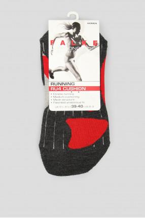 Женские серые носки для бега RU4 CUSHION