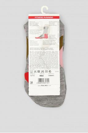 Женские розовые носки для бега RU4 CUSHION 1