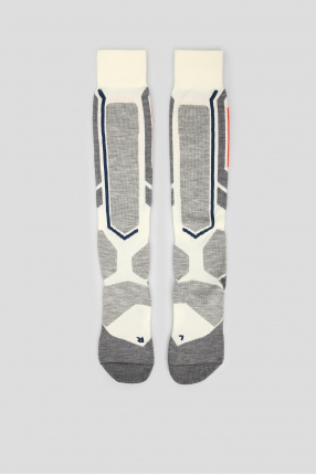 Женские лыжные носки с узором SB2 1