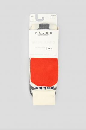 Женские лыжные носки с узором SB2