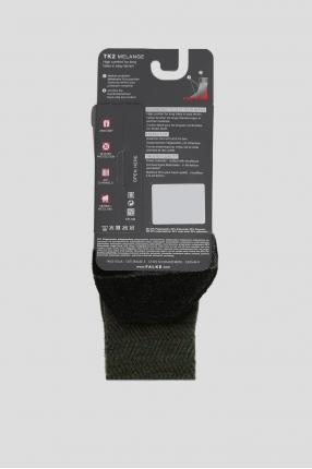 Мужские зеленые треккинговые носки 1