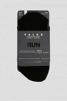 Мужские черные носки для бега