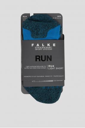 Мужские синие носки для бега