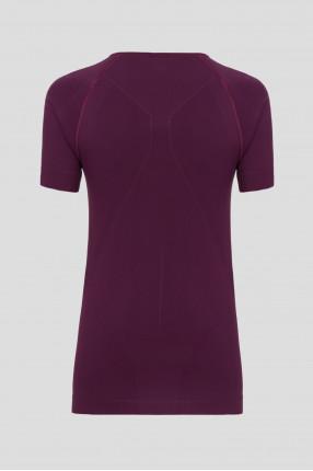 Женская фиолетовая термофутболка WARM 1