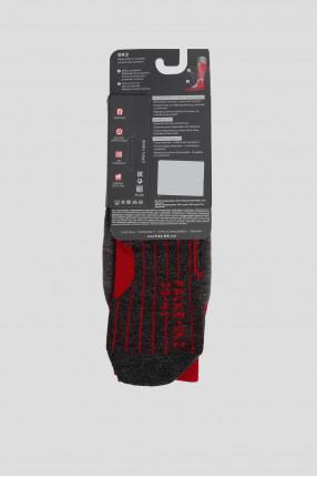 Мужские серые лыжные носки SK2 1