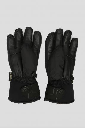 Женские черные перчатки 1