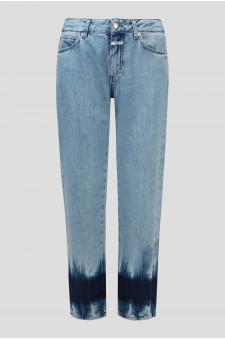 Женские голубые джинсы JAY