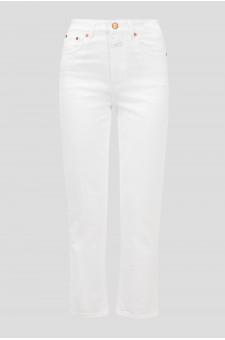 Женские белые джинсы GLOW