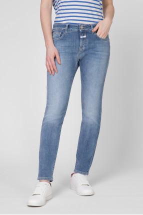 Женские голубые джинсы Slim Fit 1