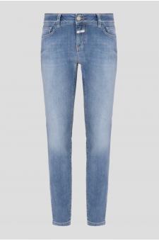 Женские голубые джинсы Slim Fit