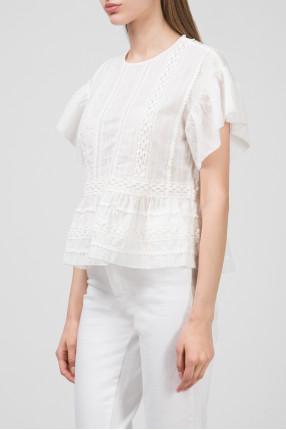 Женская белая блуза ROSALIE 1