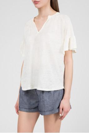 Женская желтая блуза 1