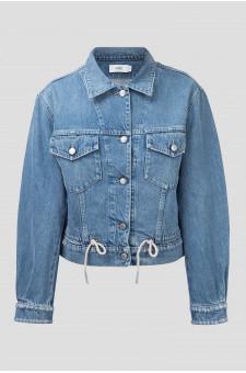 Женская голубая джинсовая куртка CHENOA